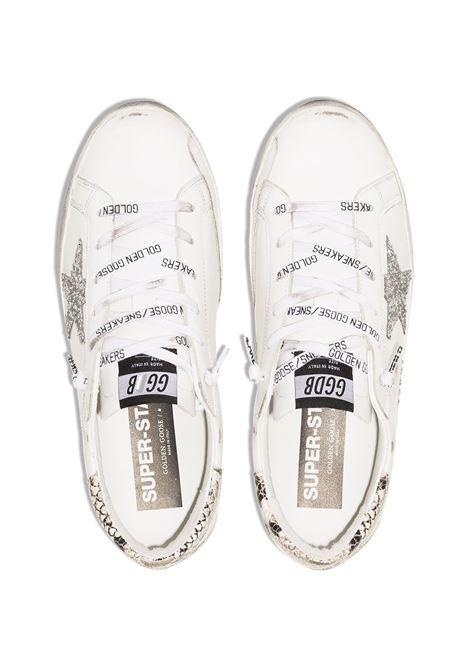 Sneaker Superstar in pelle bianca effetto consumato GOLDEN GOOSE | Sneakers | GWF00102-F00076110402