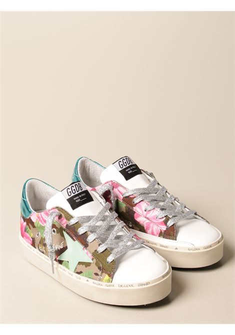 Multicolour cotton and leather Superstar canvas sneakers featuring flower camouflage pattern GOLDEN GOOSE |  | GWF00118-F00111480842