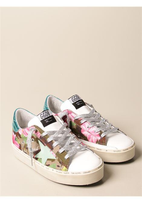 Sneaker Superstar in tela di cotone e pelle multicolor con fantasia camouflage floreale GOLDEN GOOSE | Sneakers | GWF00118-F00111480842