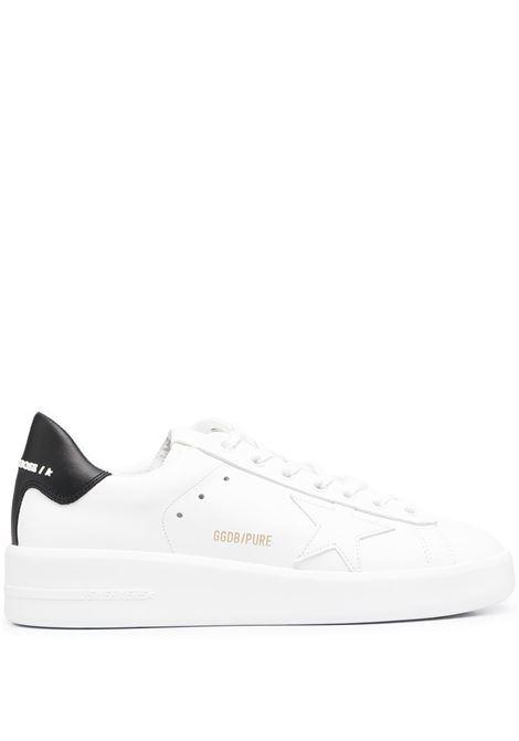 Sneaker Pure Star in pelle bianca GOLDEN GOOSE | Sneakers | GWF00197-F00053710283