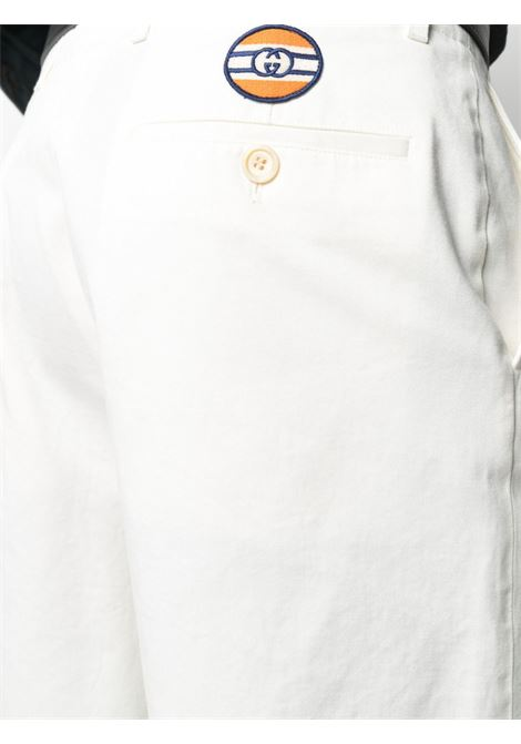 White cotton bermuda shorts  GUCCI |  | 639388-ZAF8C9733