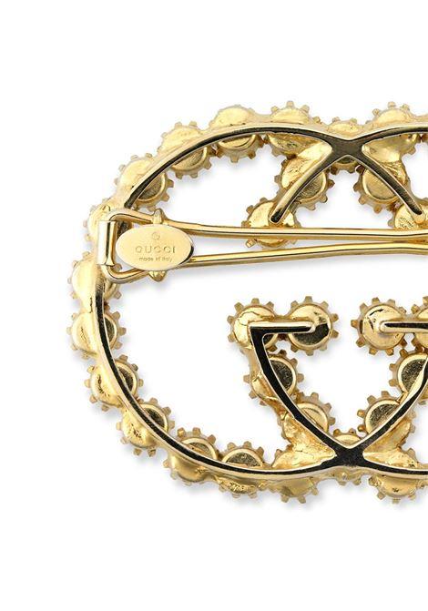 Gold-tone GG pearl hair clip  GUCCI |  | 645607-JCF278452