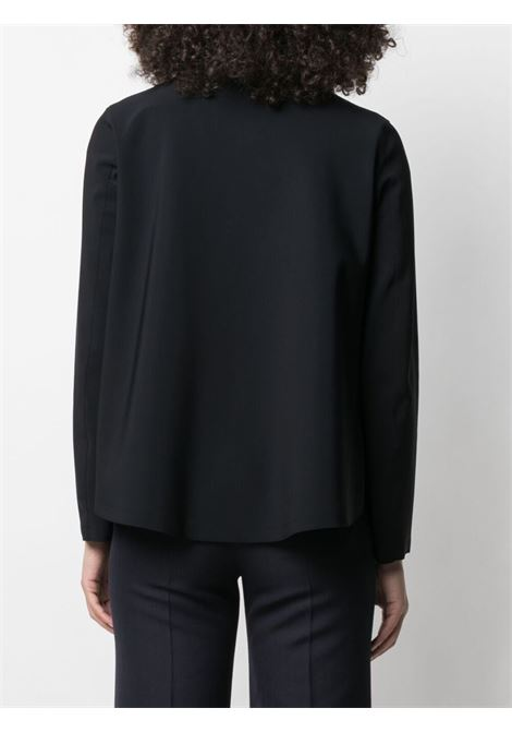 Black funnel-neck zipped jacket featuring long sleeves HERNO |  | GC0308D-13455S9300