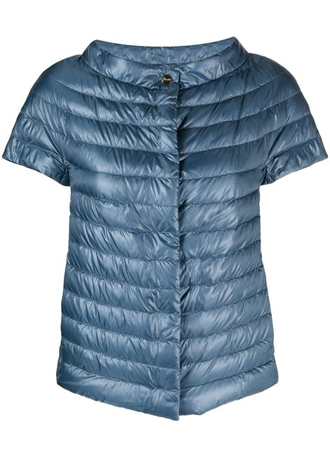 Light blue short-sleeve down feather filling padded jacket  HERNO |  | PI0754DIC-120179008