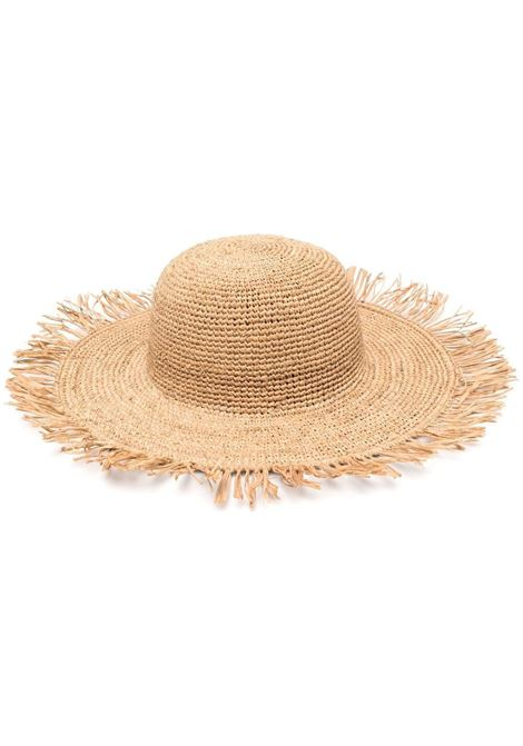Cappello in paglia Mirana in rafia naturale IBELIV   Cappelli   MIRANATEA