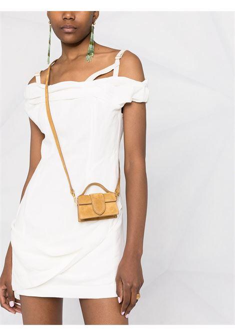 Miniabito bianco ed ecrù in cotone e lino JACQUEMUS | Abiti | 211DR22-111110