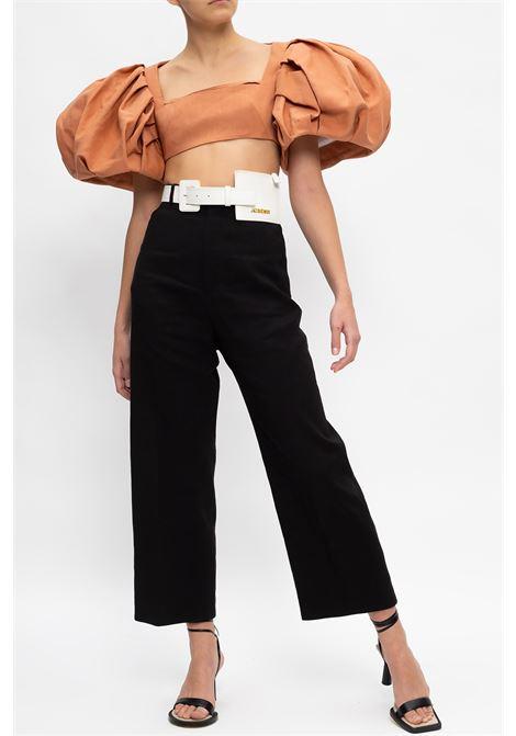 Black cotton-virgin wool  Le Pantalon Santon trousers  JACQUEMUS |  | 211PA02-103990