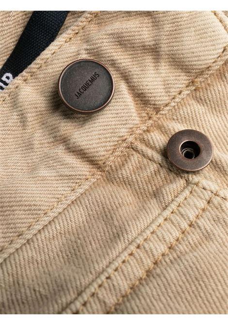 Beige organic cotton-denim Le de Nîmes Grano straight-leg jeans JACQUEMUS |  | 215DE02-124810