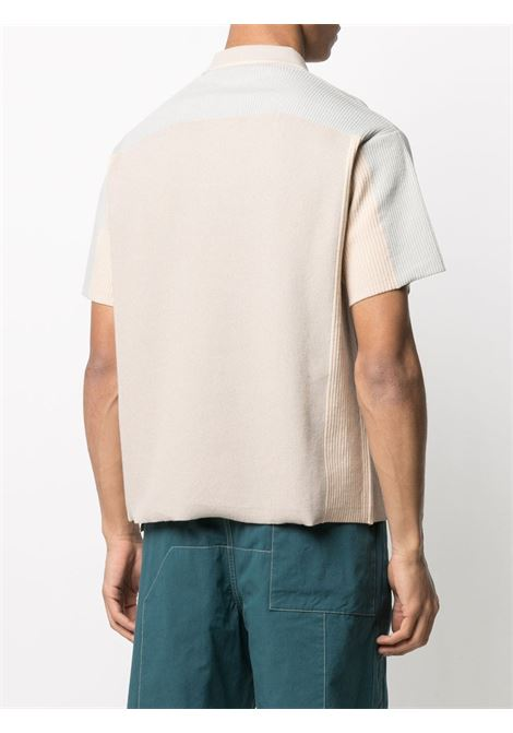 Beige and blue cotton-blend Blé polo shirt   JACQUEMUS |  | 215KN13-226020