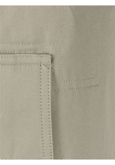 Green and cream cotton Le pantalon Alzu cargo trousers  JACQUEMUS |  | 215PA04-101530