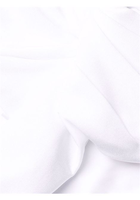 Bright-white Amelie ruched off-shoulder bikini LA REVECHE |  | AMELIEWHITE