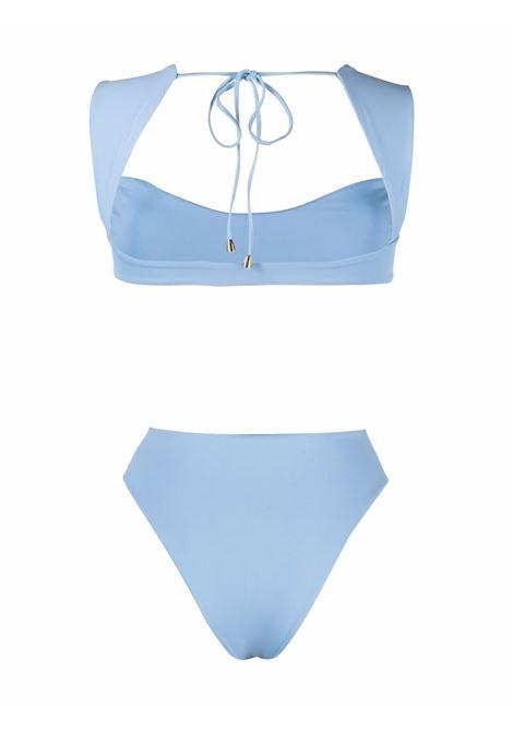 Bikini Maria celeste con scollo a cuore LA REVECHE | Costumi | MARIA BIKINISKY