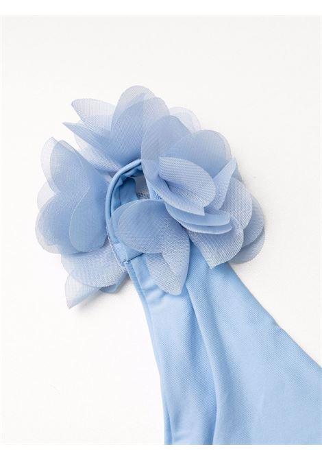 bikini azzurro con rouches LA REVECHE | Costumi | SHAYNASKY