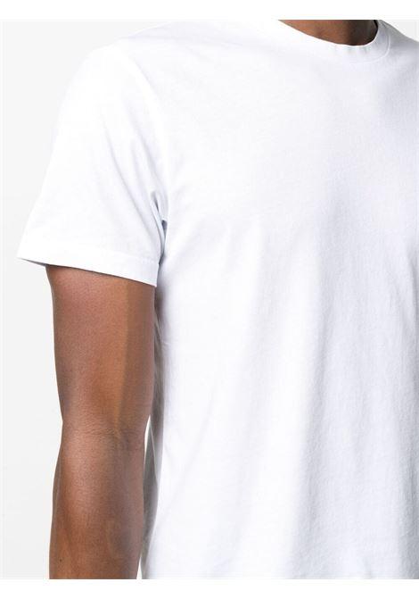 White cotton T-shirt featuring round neck MANUEL RITZ      3032M550-21329102
