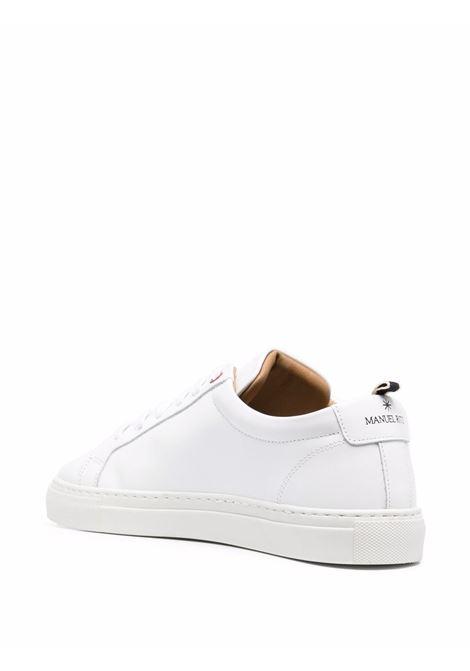 Sneakers basse in pelle bianca MANUEL RITZ | Sneakers | 3032Q510-21333002