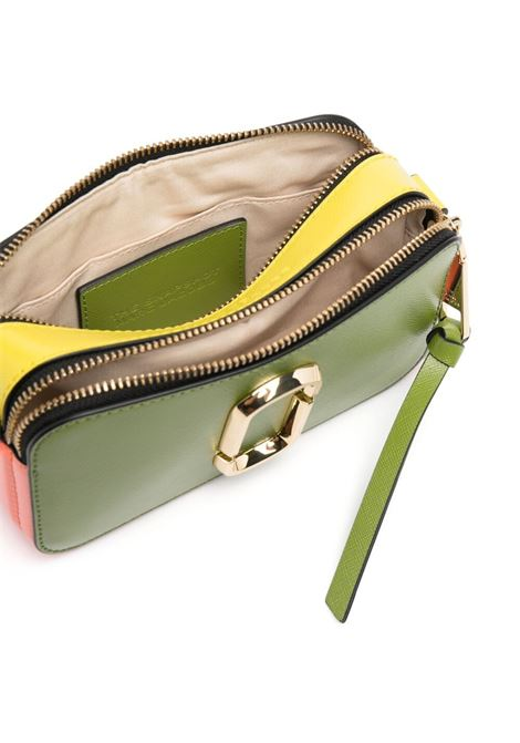 Green saffiano leather Snapshot camera bag featuring gold Marc Jacobs logo MARC JACOBS |  | M0012007310