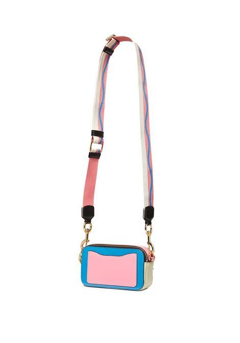 Malibu blu  saffiano leather The Snapshot camera bag  MARC JACOBS |  | M0012007425