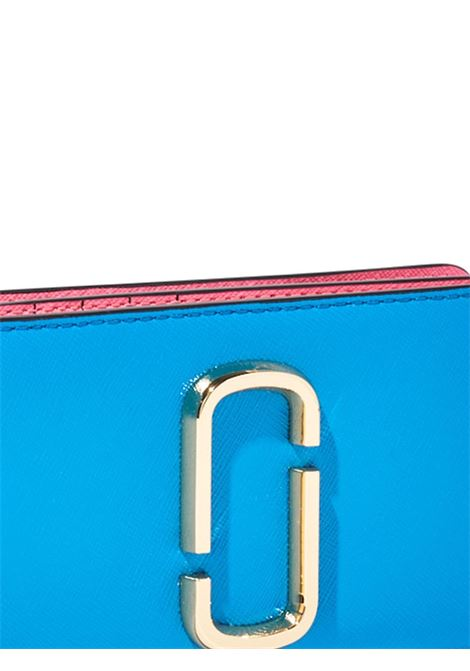 Malibu blue saffiano leather The Snapshot wallet  MARC JACOBS |  | M0013356425