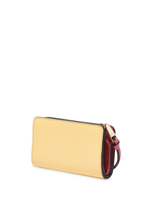 Red and pink saffiano leather Snapshot wallet  MARC JACOBS |  | M0013356666