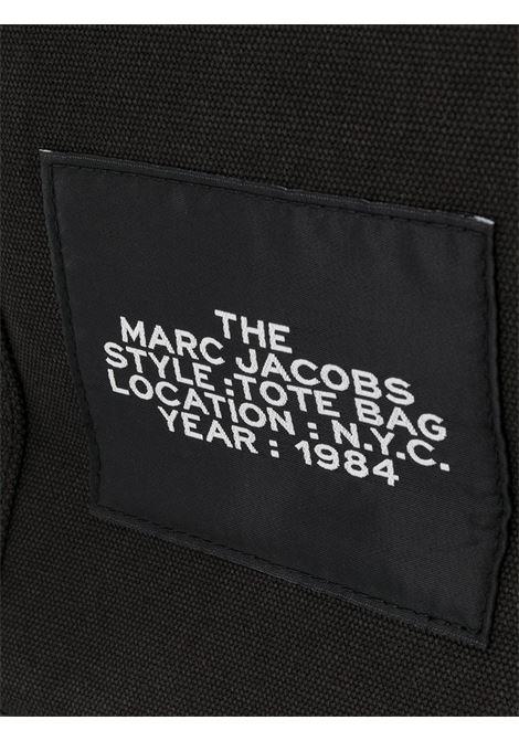 black cotton Traveler tote bag featuring Marc Jacobs white logo MARC JACOBS |  | M0016156001