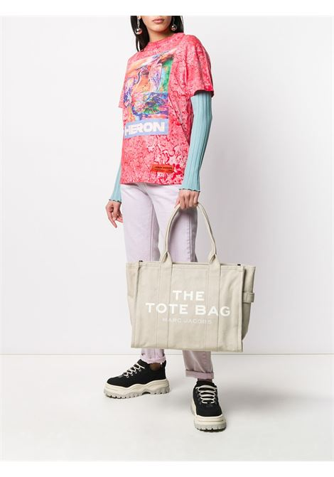 Beige cotton Traveler tote bag featuring Marc Jacobs white logo MARC JACOBS |  | M0016156260