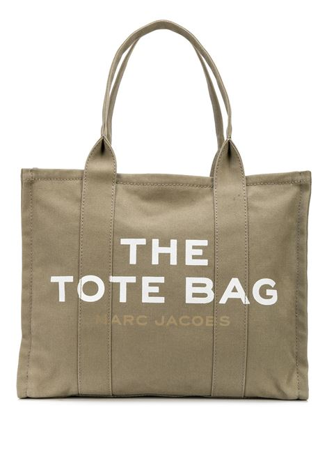 Green cotton Traveler tote bag featuring Marc Jacobs white logo MARC JACOBS |  | M0016156372