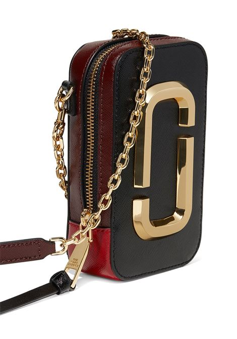 Black and red cow leather The Hot Shot crossbody bag  MARC JACOBS |  | M0016765011