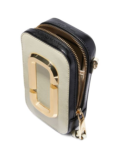 White and black cow leather The Hot Shot crossbody bag MARC JACOBS |  | M0016765136
