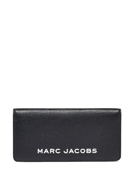 Black leather The Bold wallet featuring silver Marc Jacobs logo  MARC JACOBS |  | M0017142001