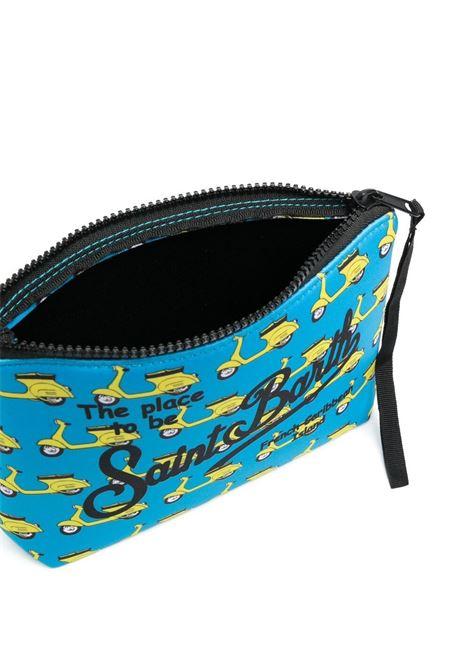 pouch in neoprene con Vespa gialla e logo nero Mc2 MC2 | Pouch | ALINE-MINI VESPA5694