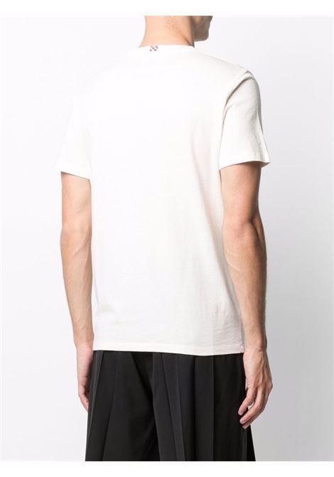 T-shirt in cotone bianco con stampa grafica Highway MC2   T-shirt   AUSTIN-EMB HIGHWAY11