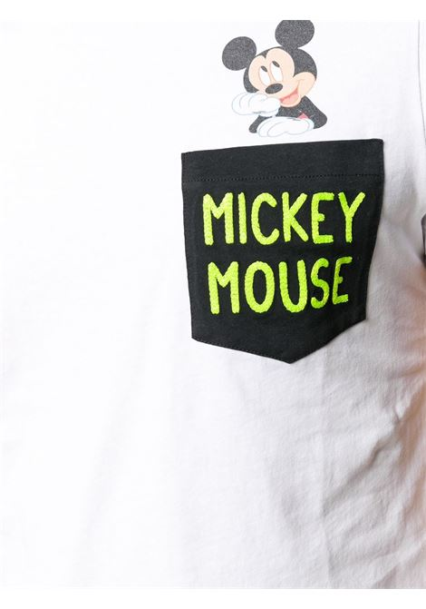 T-shirt in cotone bianco MC2 SAINT BARTH x Disney Collection MC2 | T-shirt | AUSTIN-EMB MICKEY TH100