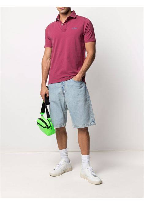 burgundy cotton short-sleeve polo shirt  MC2 |  | BRIGHTON45