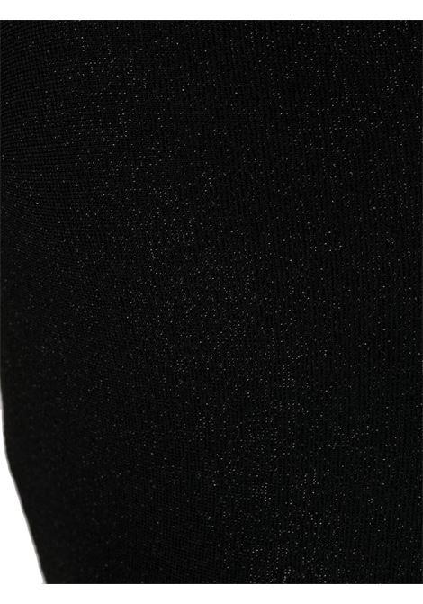 Costume da bagno intero nero in lurex con scollo a V MC2 | Costumi | CANDICE LUX00