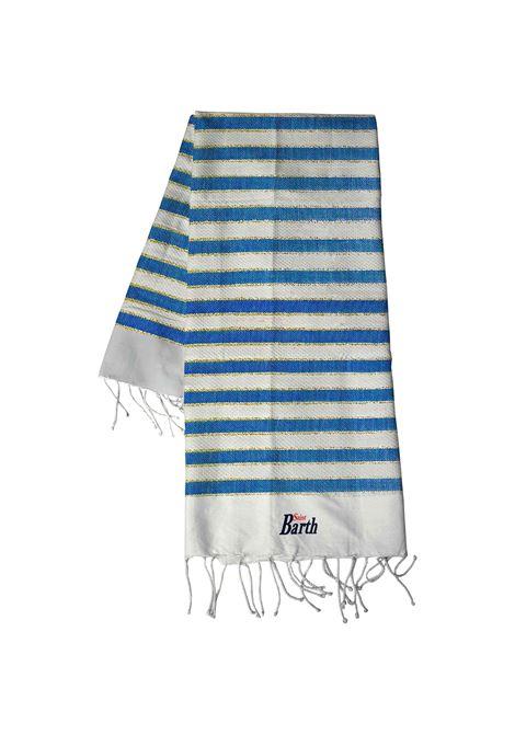 Blue cotton stripe-print beach towel  MC2 |  | FOUTAS-LIG170OR170OR