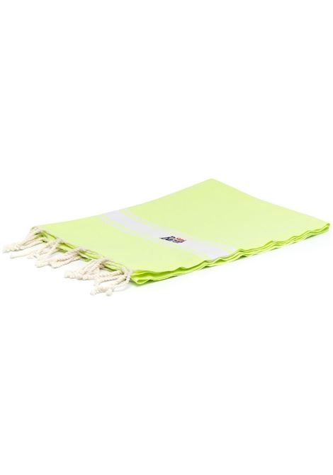 Fluo yellow beach towel featuring Mc2 embroidered logo MC2 |  | FOUTAS94 FLUO