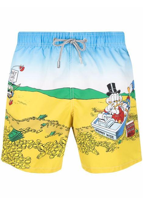 costume da bagno multicolore Gustavia Sea Money MC2 | Costumi | GUSTAVIA PLACED PRINT-SEA MONEY31