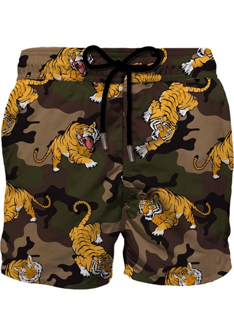 Multicoloured Gustavia Tiger camouflage swim shorts MC2 |  | GUSTAVIA-VINTAGE MIM TIGER52
