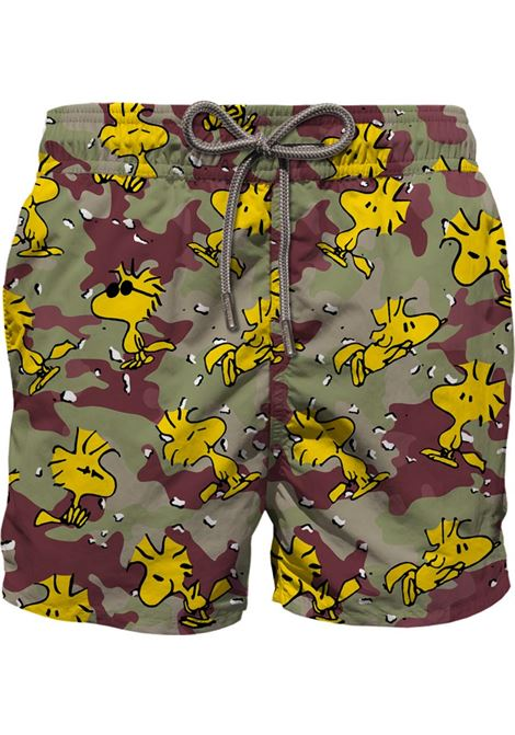 Brown Gustavia Woodstock recycled polyester swim shorts  MC2 |  | GUSTAVIA-WOODSTOCK CAMO11