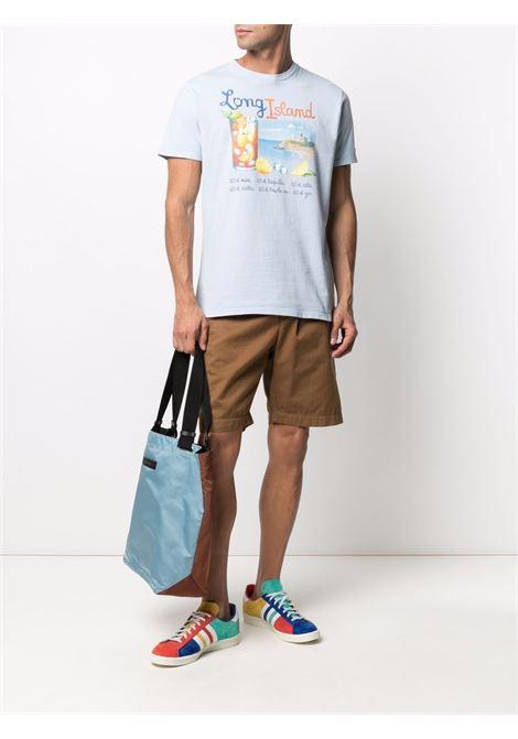 Blue cotton Long island print T-shirt  MC2 |  | JACK-ISLAND LONG31L