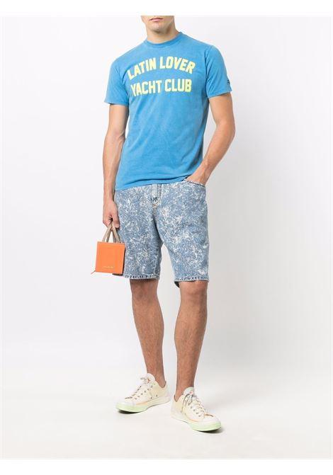 Blue cotton Latin Lover T-shirt  MC2 |  | JACK-YACHT CLUB17N