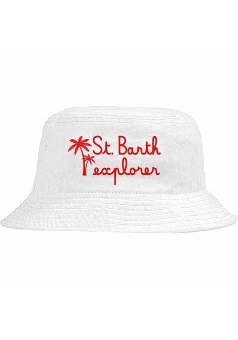 White cotton bucket hat MC2 |  | JAMES-EMB BARTH EXPLORER01