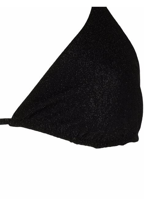 Glitter black Leah Marielle triangle bikini  MC2      LEAH+MARIELLELUX00