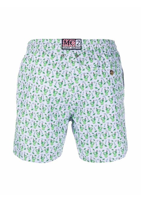 green mojito-print drawstring-waist swim shorts   MC2 |  | LIGHTING MICRO FANTASY-MOJITO MICRO24