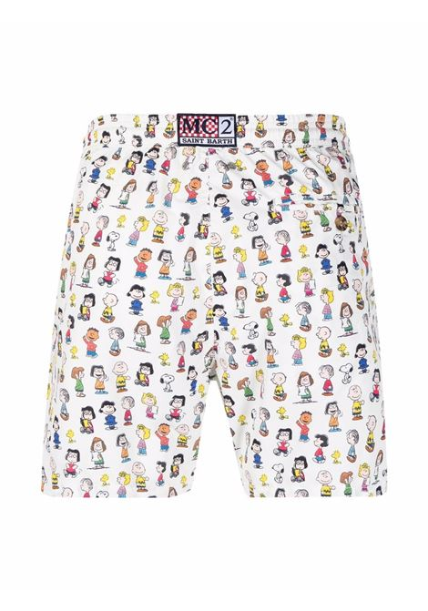Shorts da bagno multicolore con stampa cartoon Peanuts MC2 | Costumi | LIGHTING MICRO FANTASY-SNOOPY AND CO01