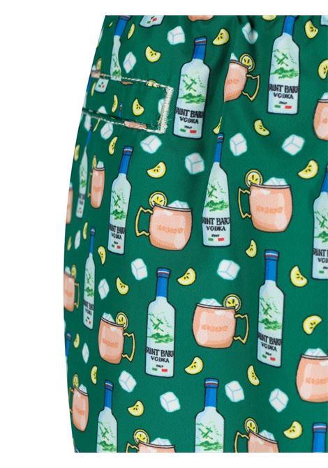 Shorts da bagno  Lighting Vodka in poliestere riciclato verde MC2 | Costumi | LIGHTING MICRO FANTASY-VODKA MULE51