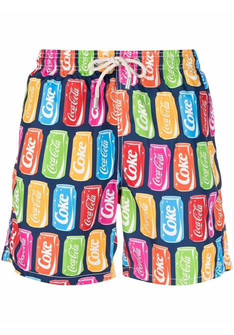 multicolour recycled polyester swim shorts  MC2 |  | LIGHTING-ULTRA FRESH61