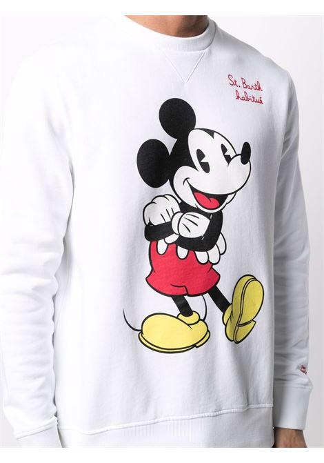 White cotton Mickey Mouse™ print sweatshirt   MC2 |  | PONZA-EMB MICKEY HB01N