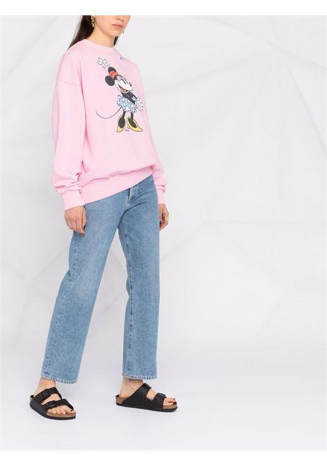 Pink cotton Minnie Mouse print sweatshirt  MC2 |  | STARDUST-MINNIE21