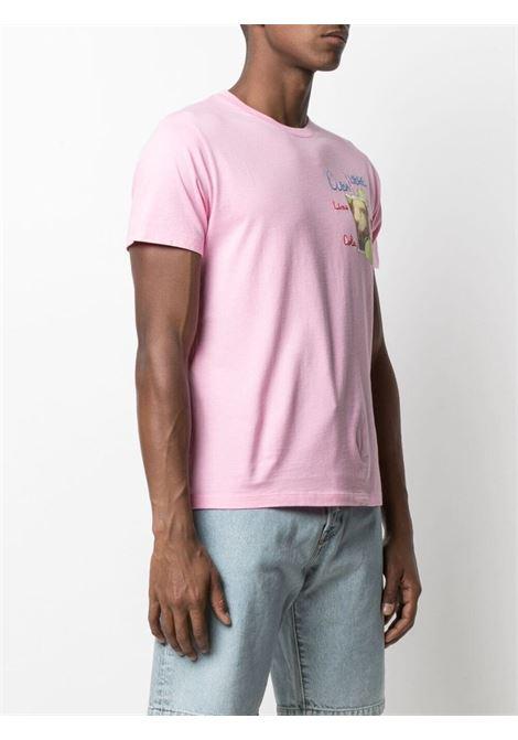 Pink cotton Cuba Libre graphic-print T-shirt   MC2 |  | TSHIRT-EMB CUBA LIBRE21